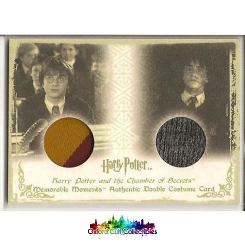 Harry Potter Authentic Dual Costume Card