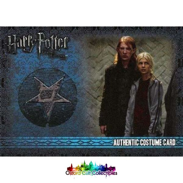 Harry Potter Bill Weasley Authentic Costume Card