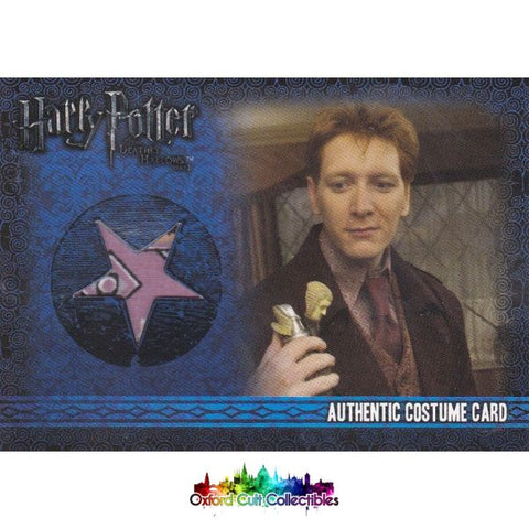 Harry Potter George Weasley Authentic Costume Card
