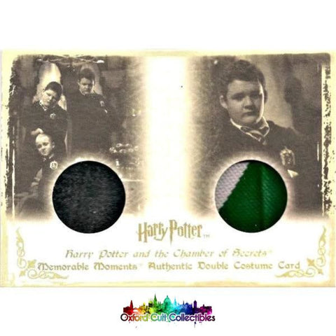 Harry Potter Gregory Goyle Authentic Dual Costume Card