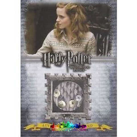 Harry Potter Hermione Granger Authentic Costume Card