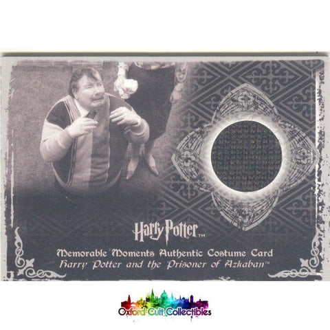 Harry Potter Uncle Dursley Authentic Costume Card