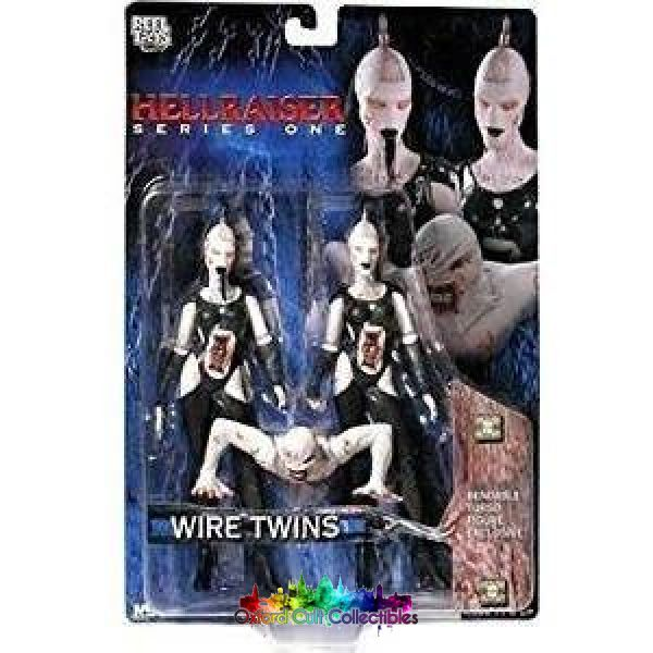 Hellraiser Series One Wire Twins Action Figures