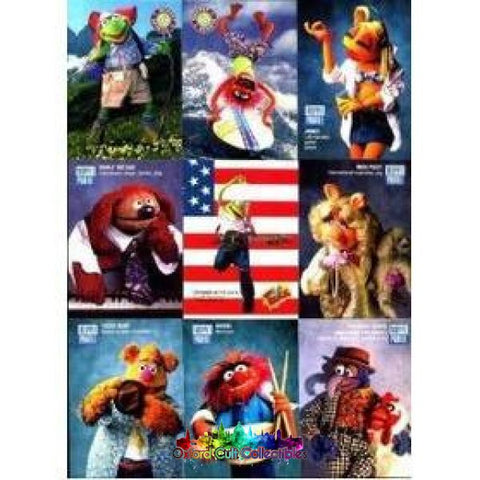 Jim Hensons The Muppets Trading Card Set