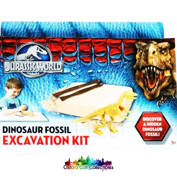 Jurassic World Dinosaur Fossil Excavation Kit