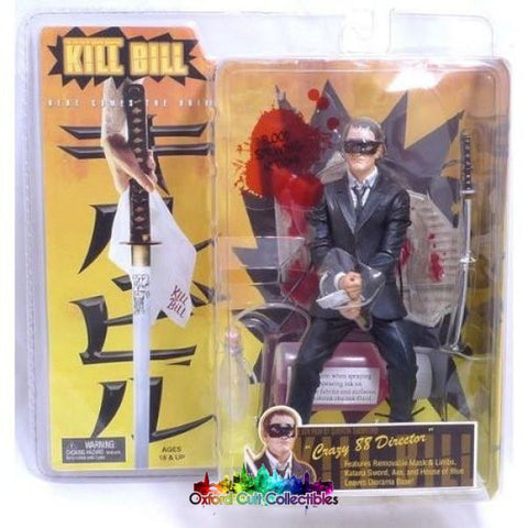 Kill Bill Crazy 88 Director Action Figure