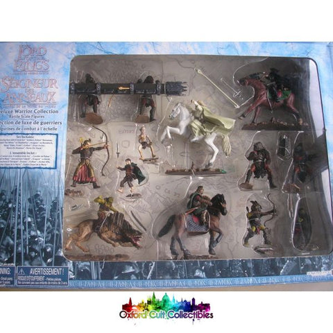 Lord Of The Rings Armies Middle-Earth Deluxe Warrior Collection