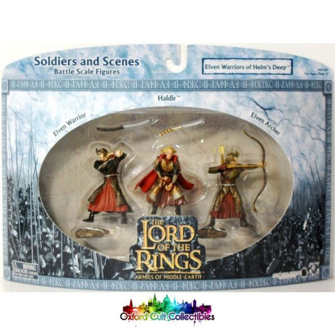 Lord Of The Rings Armies Middle-Earth Elven Warriors Helms Deep