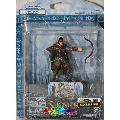 Lord Of The Rings Armies Middle-Earth Exclusive Rohan Archer