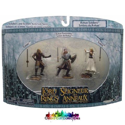 Lord Of The Rings Armies Middle-Earth Rohan Soldiers