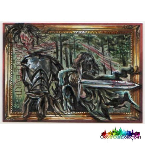 Lord Of The Rings Artist Sketch Card