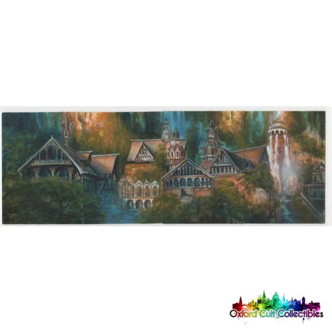 Lord Of The Rings Artist Sketch Card Quad Puzzle