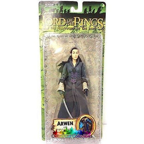 Lord Of The Rings Arwen With Light-Up Evenstar Trilogy Action Figure
