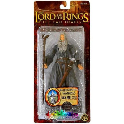 Lord Of The Rings Balrog Battle Gandalf Trilogy Action Figure