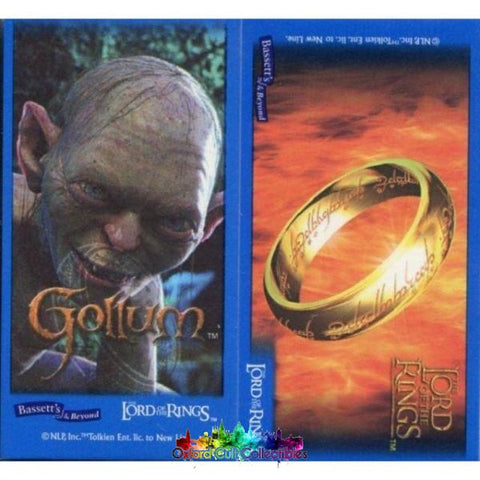 Lord Of The Rings Bassetts Mini Collectors Cards Trading Card Set