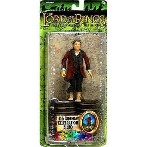 Lord Of The Rings Birthday Celebration Bilbo Trilogy Action Figure