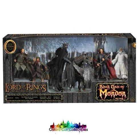 Lord Of The Rings Black Gate Mordor Action Figure Set