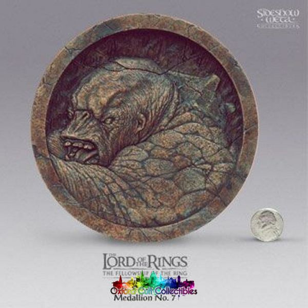 Lord Of The Rings The Cave Troll Medallion No. 7 (Sideshow Weta)