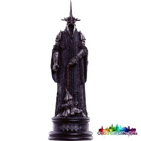 Lord Of The Rings Chess Collection The Witch-King Of Angmar - Black Queen Figurine