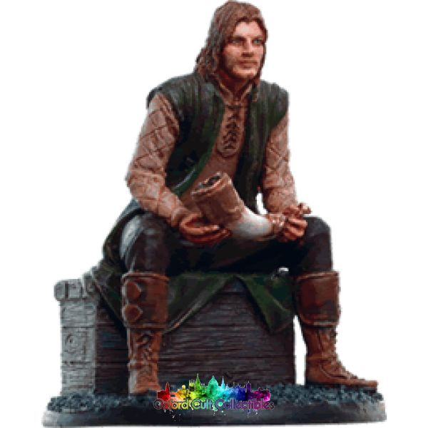 Lord Of The Rings Collectors Model Faramir In Ithilien 162 Hand Painted Figurine Hand