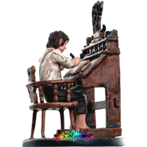 Lord Of The Rings Collectors Model Frodo At Writing Desk In Hobbiton 180 Hand Painted Figurine Hand