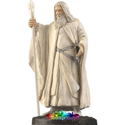 Lord Of The Rings Collectors Model Number 1: Gandalf White Hand Painted Figurine Hand