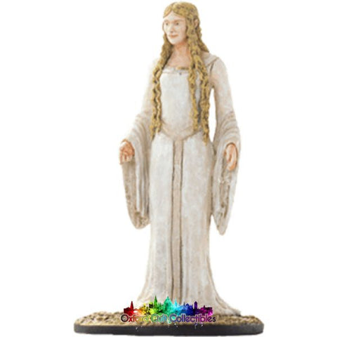 Lord Of The Rings Collectors Model Number 18: Galadriel At Lothlorien Hand Painted Figurine Hand