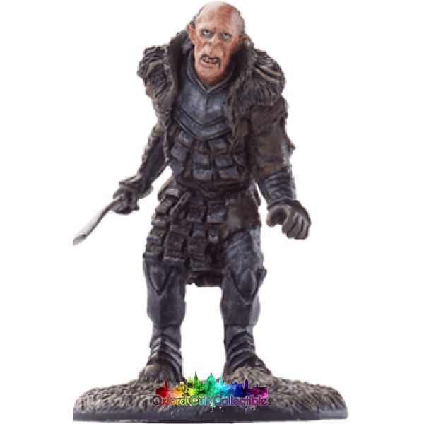 Lord Of The Rings Collectors Model Number 21: Grishnakh At Fangorn Forest Hand Painted Figurine Hand