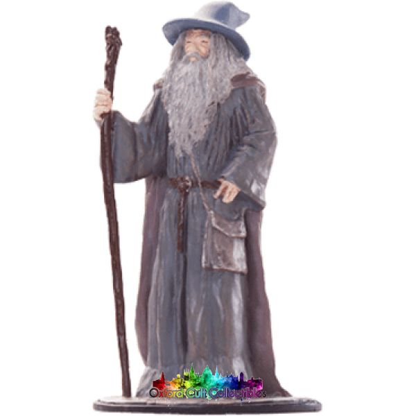 Lord Of The Rings Collectors Model Number 22: Gandalf Grey At Hobbiton Hand Painted Figurine Hand