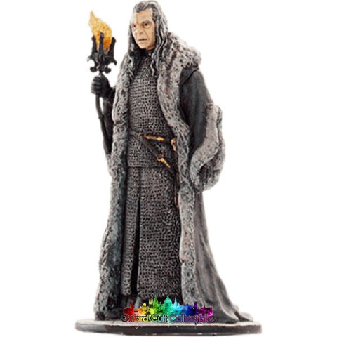 Lord Of The Rings Collectors Model Number 25: Denethor At Minas Tirith Hand Painted Figurine Hand