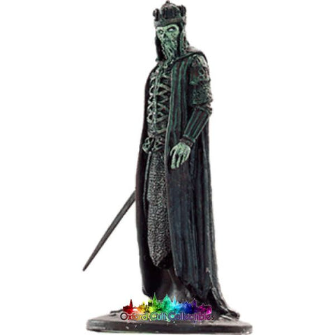 Lord Of The Rings Collectors Model Number 26: King Dead At Cave Erech Hand Painted Figurine Hand