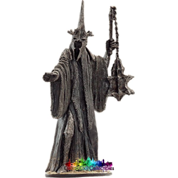 Lord Of The Rings Collectors Model Number 27: The Witch King At Pelennor Fields Hand Painted Figurine Hand