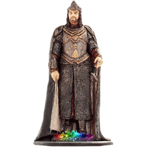 Lord Of The Rings Collectors Model Number 28: King Elessar At Minas Tirith Hand Painted Figurine Hand