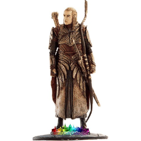 Lord Of The Rings Collectors Model Number 30: Haldir At Helms Deep Hand Painted Figurine Hand
