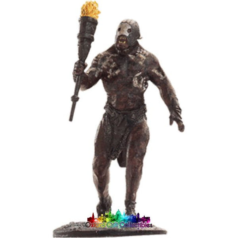Lord Of The Rings Collectors Model Number 35: Beserker Uruk Hai At Helms Deep Hand Painted Figurine Hand