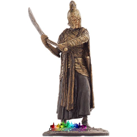 Lord Of The Rings Collectors Model Number 38: Elven Warrior At Dagorlad Plain Hand Painted Figurine Hand