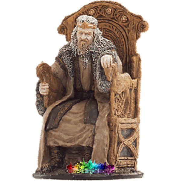 Lord Of The Rings Collectors Model Number 43: Possessed King Theoden Hand Painted Figurine Hand