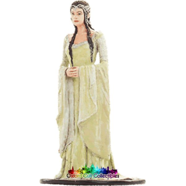 Lord Of The Rings Collectors Model Number 44: Arwen At Minas Tirith Hand Painted Figurine Hand