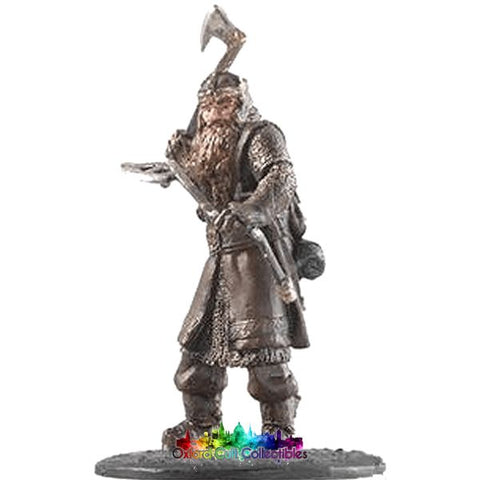 Lord Of The Rings Collectors Model Number 5: Gimli At Balins Tomb Hand Painted Figurine Hand