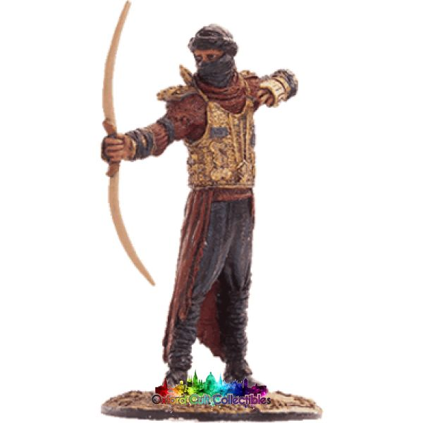 Lord Of The Rings Collectors Model Number 51: Haradrim Archer At Pelennor Fields Hand Painted Figurine Hand