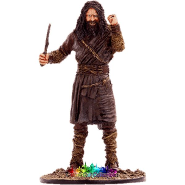 Lord Of The Rings Collectors Model Number 53: Wildman At Plains Rohan Hand Painted Figurine Hand