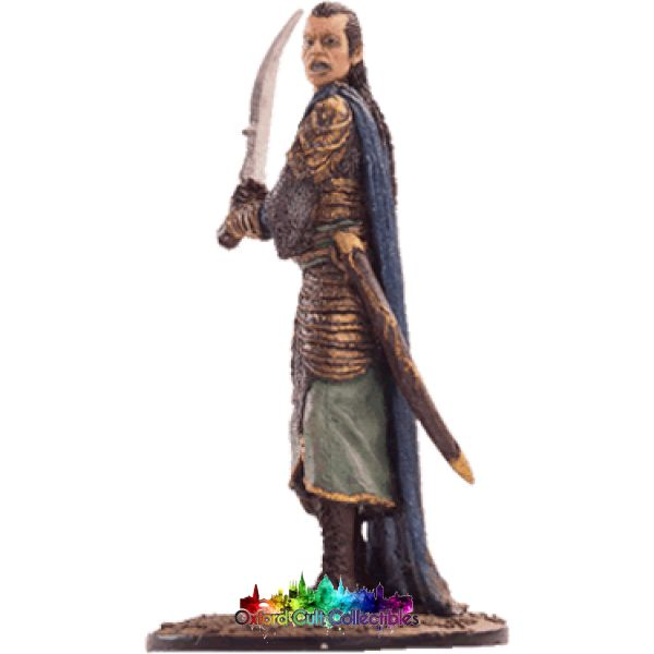 Lord Of The Rings Collectors Model Number 56: Elrond At Dagorlad Plains Hand Painted Figurine Hand