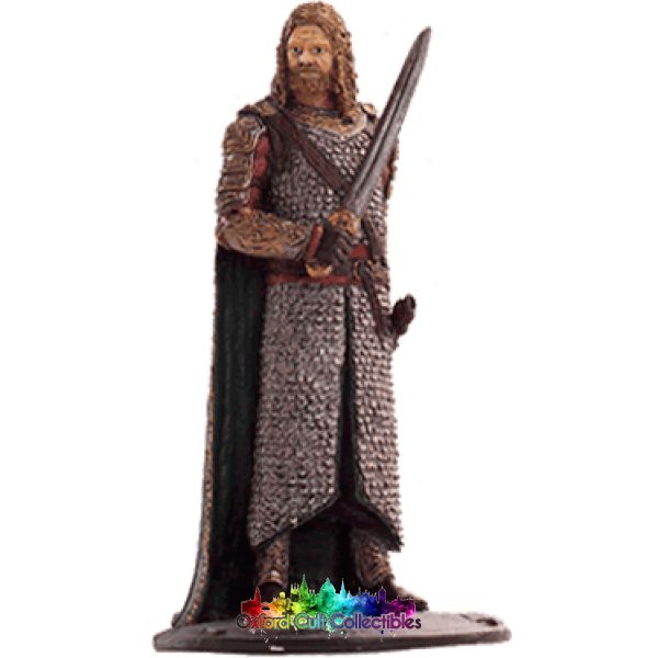 Lord Of The Rings Collectors Model Number 59: Gamling At Edoras Hand Painted Figurine Hand