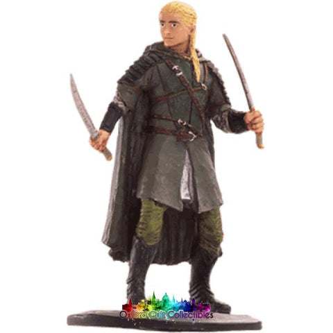 Lord Of The Rings Collectors Model Number 62: Legolas At Helms Deep Hand Painted Figurine Hand