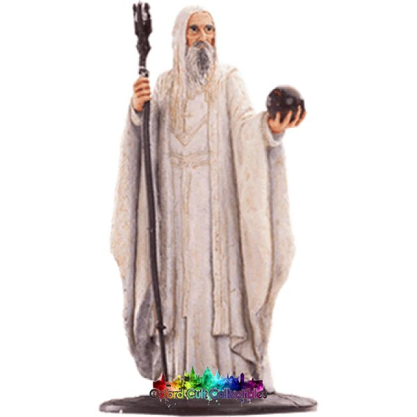 Lord Of The Rings Collectors Model Number 63: Saruman At Orthanc Hand Painted Figurine Hand