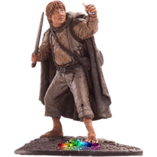 Lord Of The Rings Collectors Model Number 64: Sam At Cirith Ungol Hand Painted Figurine Hand