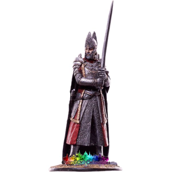 Lord Of The Rings Collectors Model Number 68: Elendil At Dagorlad Plain Hand Painted Figurine Hand