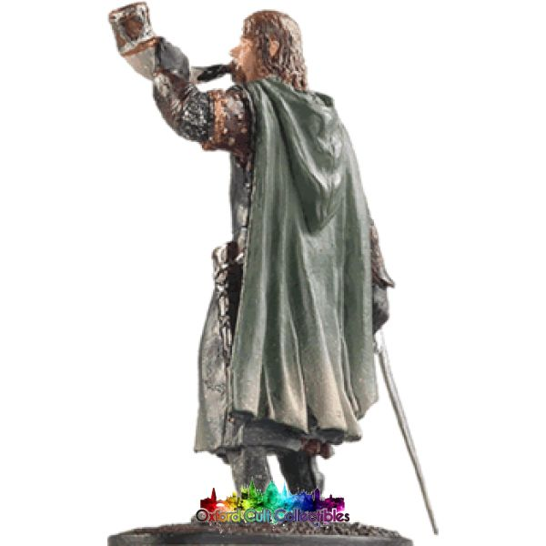 Lord Of The Rings Collectors Model Number 7: Boromir At Amon Hen Hand Painted Figurine Hand