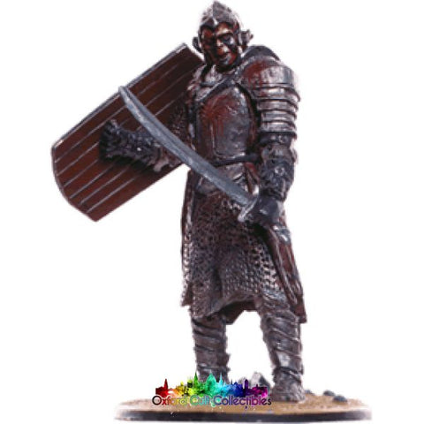Lord Of The Rings Collectors Model Number 75: Orc Warrior At Minas Tirith Hand Painted Figurine Hand
