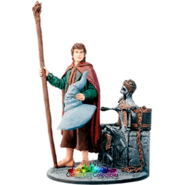 Lord Of The Rings Collectors Model Number 75: Pippin In Mines Moria Hand Painted Figurine Hand